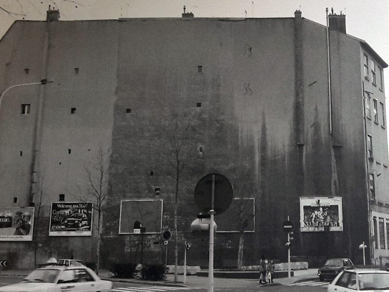 Amélie Deschamps — Mur des Canuts avant