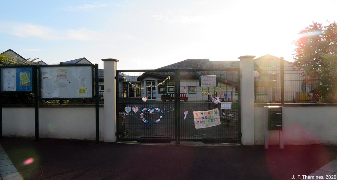 Jean-François Thémines — école confinement message élèves enseignants lien