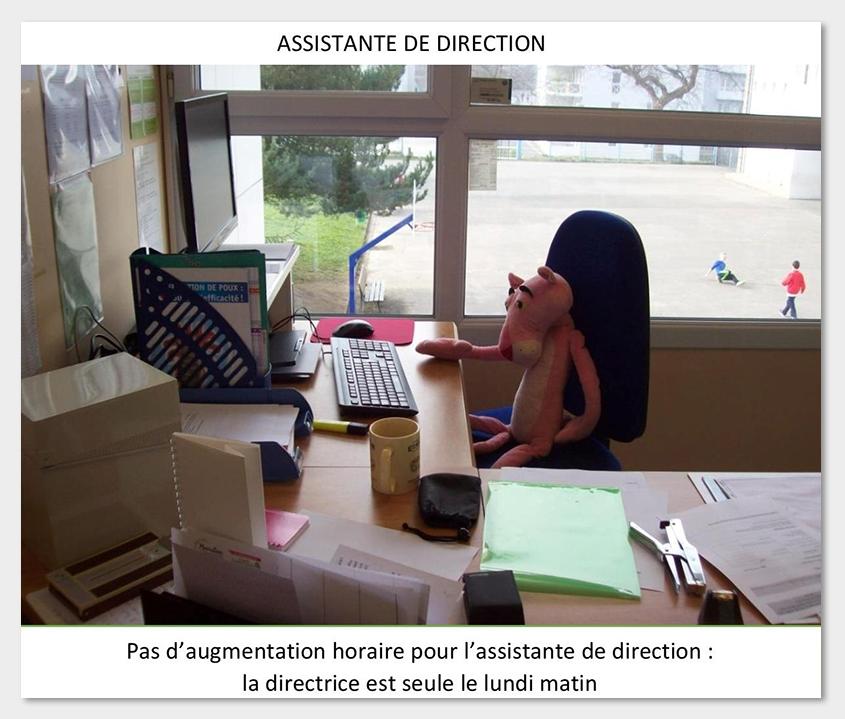 Jean-François Thémines — isolement de la directrice d'école