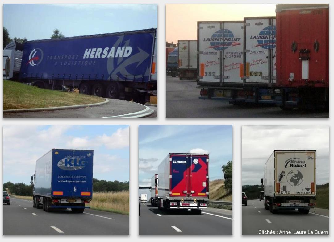 """Jean-François Thémines — camions avec un logo """"terre"""" ou """"planète"""""""