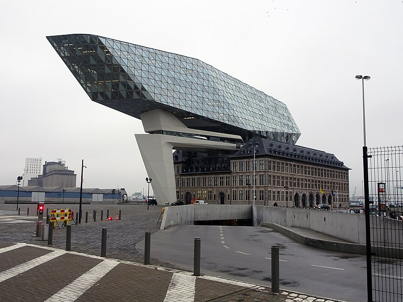 La maison du port d'Anvers