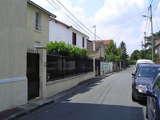 Les pavillons sous-bois, quartier pavillonnaire
