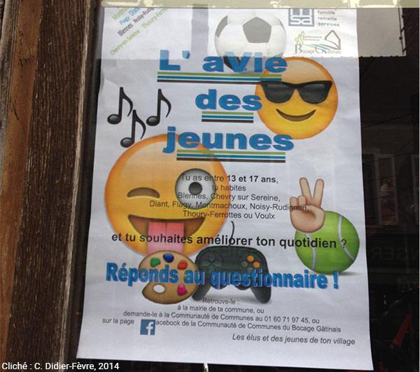 Catherine Didier-Fèvre — affiche consultation des jeunes