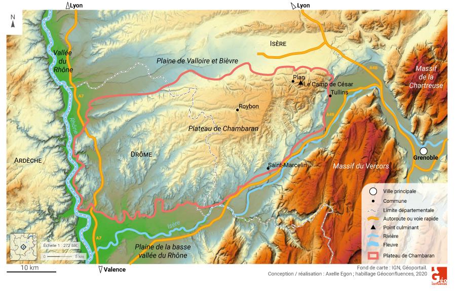 Axelle Egon - plateau de chambaran
