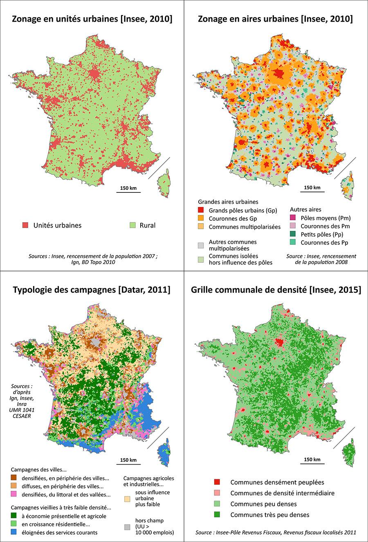 Pierre Pistre et Frédéric Richard — typologie des espaces ruraux