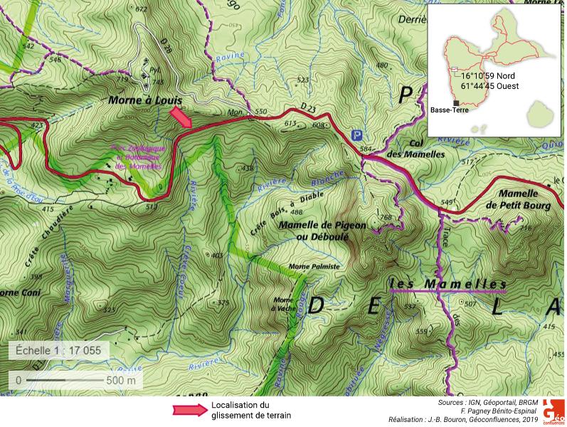Françoise Pagney Bénito-Espinal – glissement de terrain de Morne à Louis
