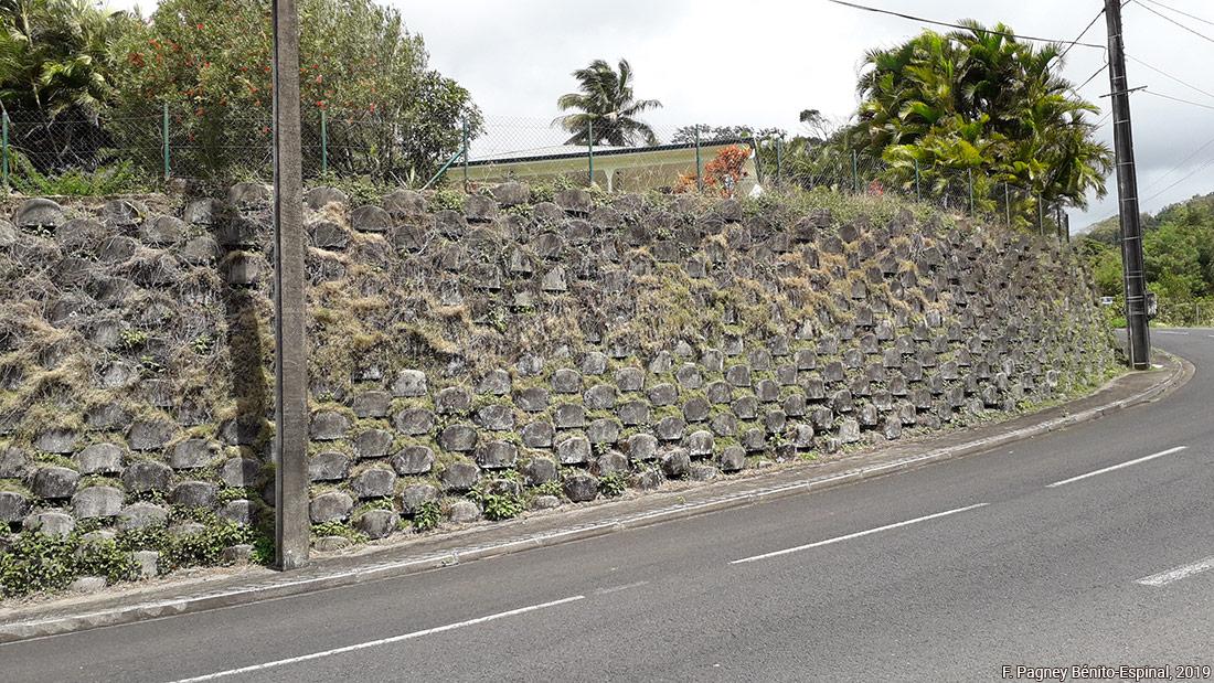 Françoise Pagney Bénito-Espinal – mur de soutenement Balata