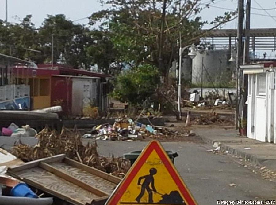 Françoise Pagney Bénito-Espinal – quartier après inondations