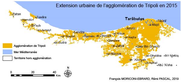 François Moriconi Ebrard et Rémi Pascal — extension urbaine de l'agglomération de Tripoli (2015)