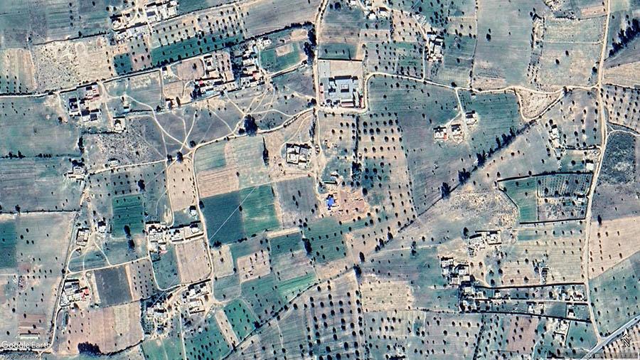 Mitage au sud-ouest de Tripoli