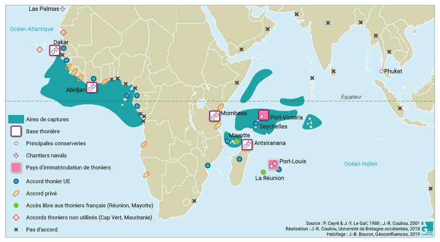 Jean-René Couliou — L'avant-pays des ports thonniers tropicaux