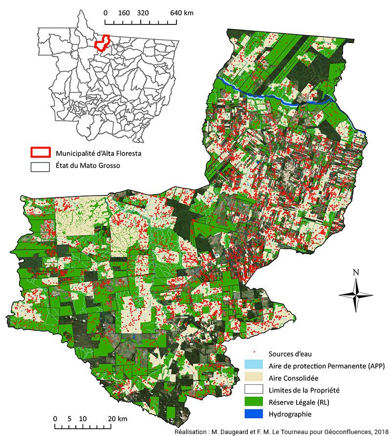 Marion Daugeard, Michel-François Le Tourneau — cadastre environnemental rural d'une commune du Mato Grosso