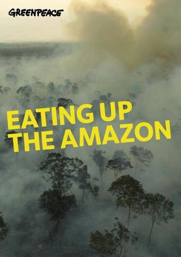 Greenpeace affiche environnement déforestation ONG
