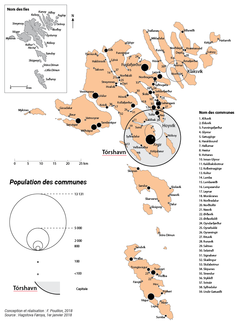 Fabien Pouillon — carte répartition population Féroé