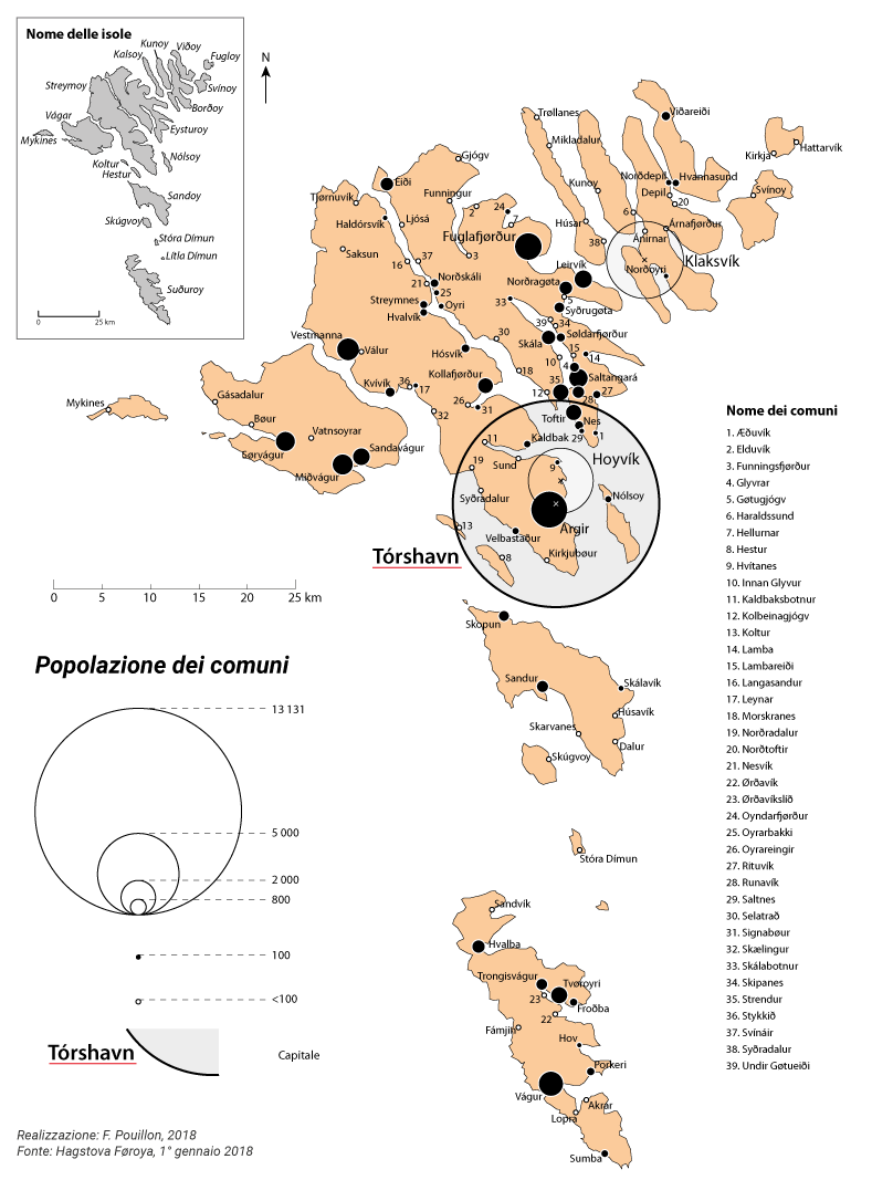 Fabien Pouillon — carte répartition population Féroé