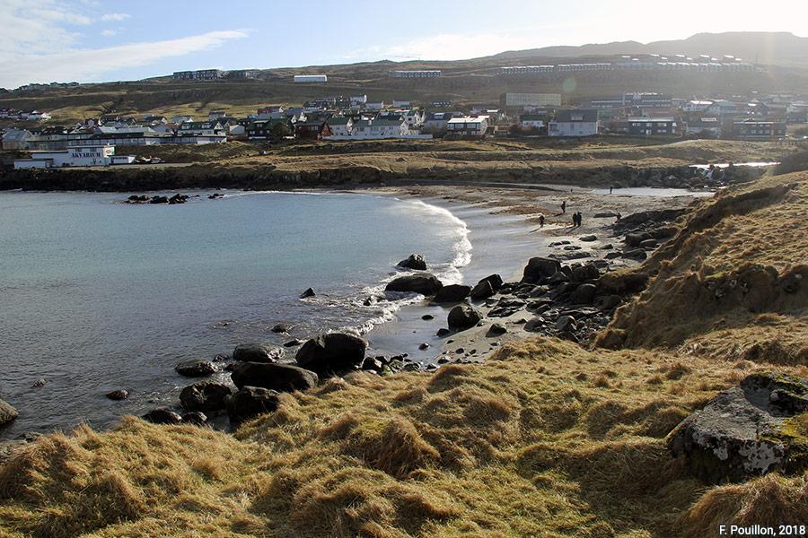 Fabien Pouillon — photo plage de Torshavn