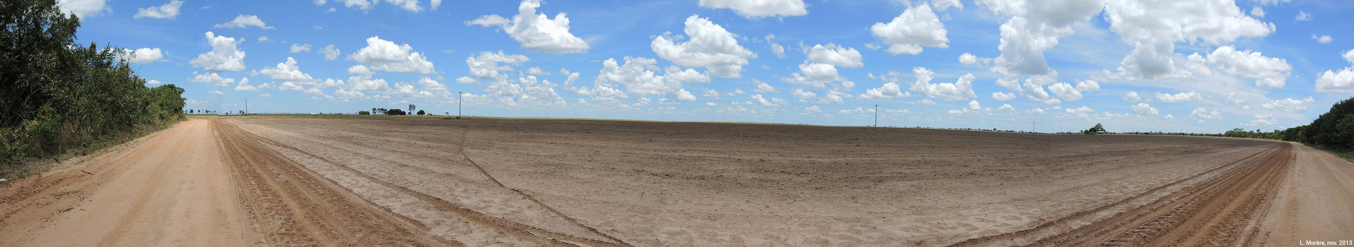 Lucie Morère —  photographie Déforestation du Cerrado dans le município de Chapada Gaúcha