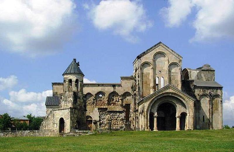 Ana Brancelj — carte cathédrale bagrati avant restauration
