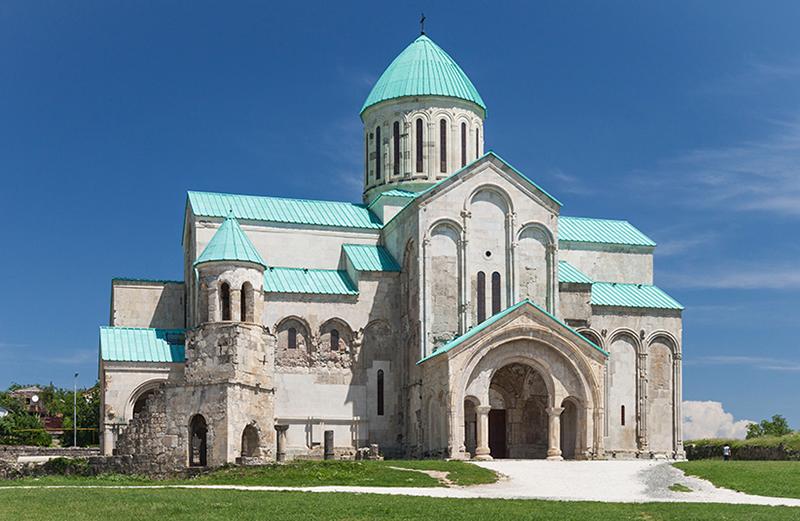 Ana Brancelj — carte cathédrale bagrati après restauration