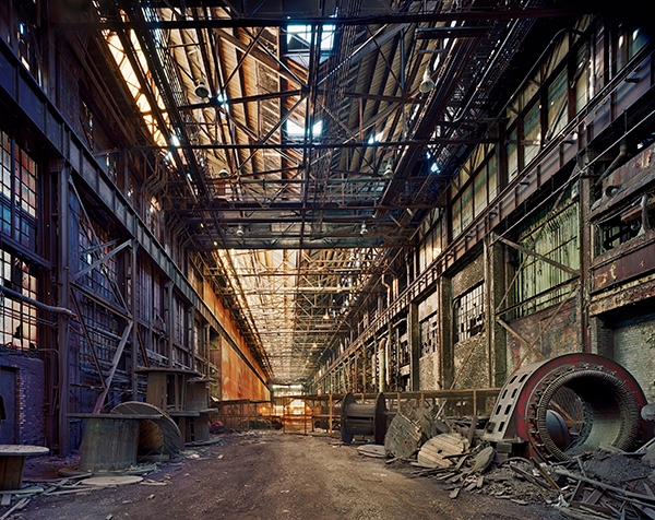 Andrew Moore, Rolling Hall, Rouge Plant, Dearborn, 2008.