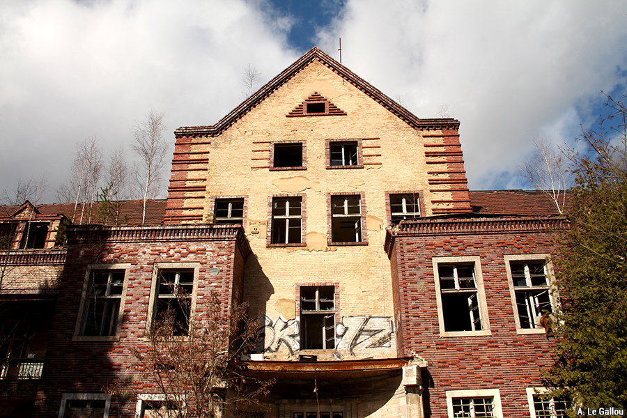 Aude Le Gallou — sanatorium de Beelitz