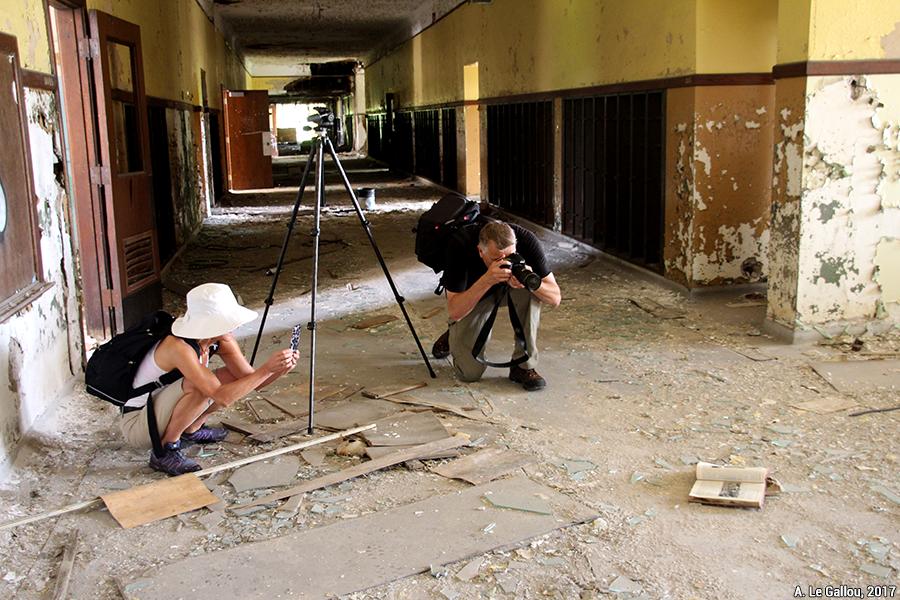 Aude Le Gallou — photographes photographiant des ruines, des bâtiments abandonnés