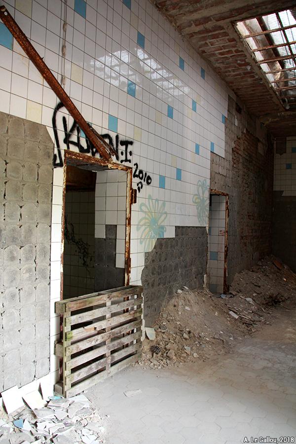 Aude Le Gallou — sécurisation des visites des ruines, des bâtiments abandonnés