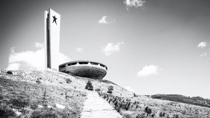 Aude Le Gallou — La Maison du Parti Communiste bulgare sur le mont Buzludzha