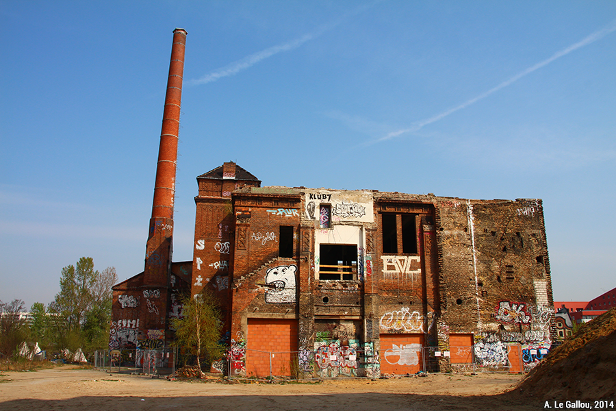 Aude Le Gallou — berlin usine de glace - usine abandonnée en ruine