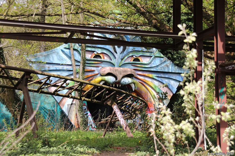 Aude Le Gallou — berlin parc d'attraction abandonné en ruine