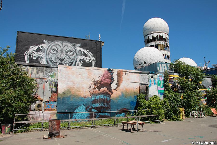 Aude Le Gallou — berlin station d'écoute américaine abandonnée en ruine