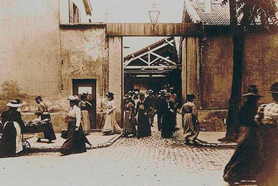 sortie des usines lumière 1895