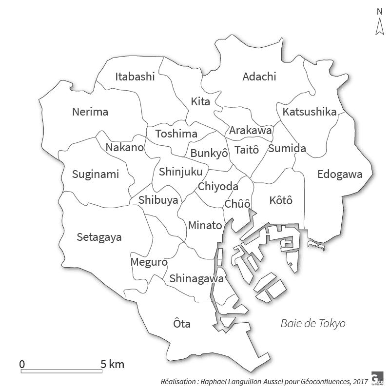 Raphaël Languillon-Aussel — carte de Tokyo