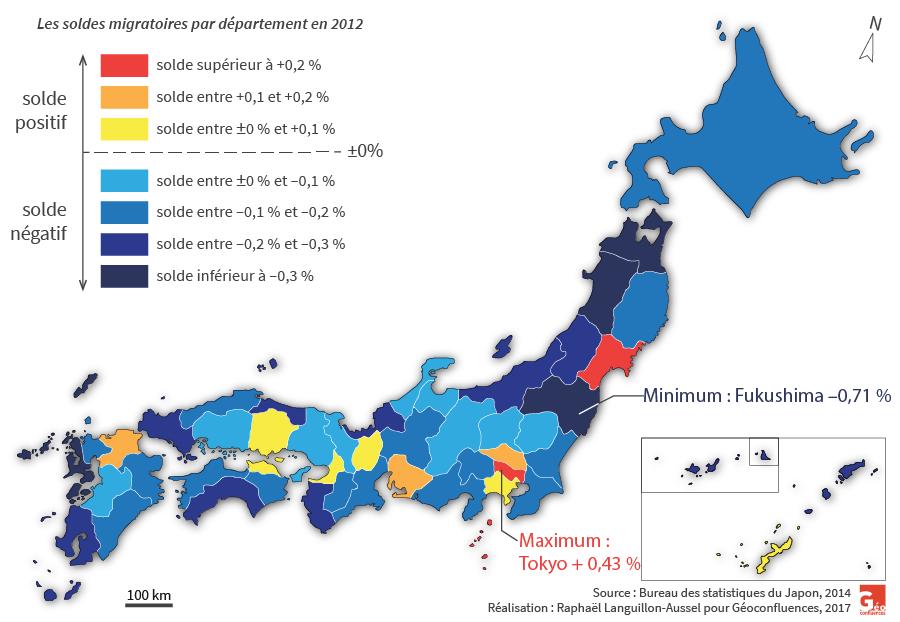 Raphaël Languillon-Aussel — carte soldes migratoires par département au Japon