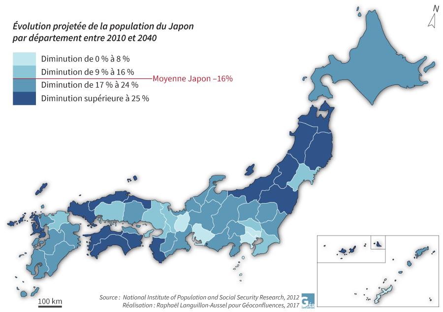 Raphaël Languillon-Aussel — carte évolution prospective population