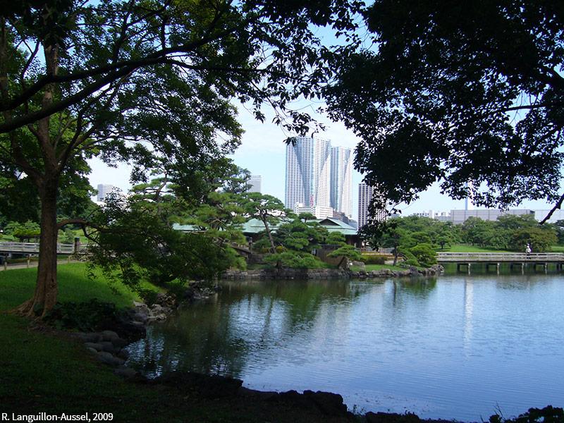 Raphaël Languillon-Aussel — photographie de parc à Tokyo