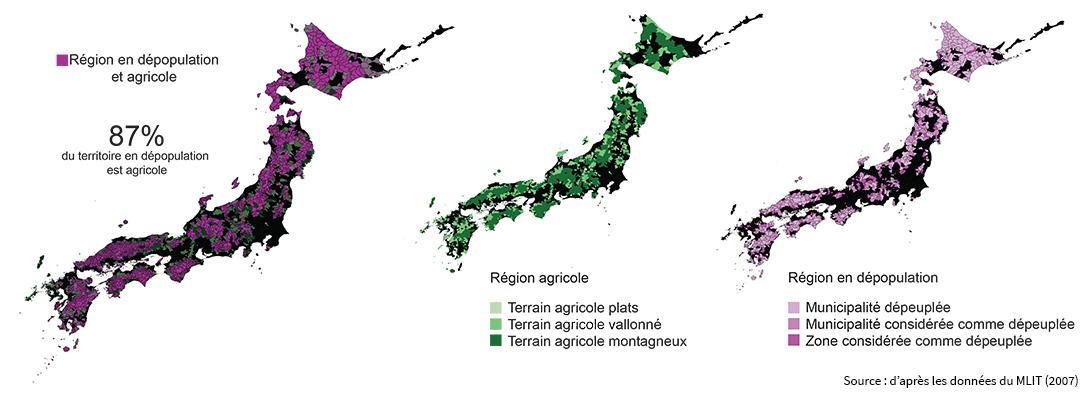 Thekla Boven – campagnes au Japon carte
