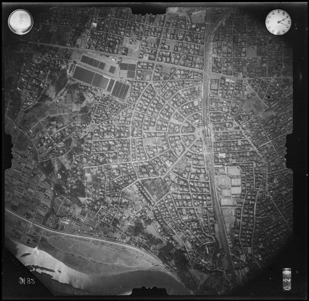 Aerial photography of Den'en Chofu (1941)