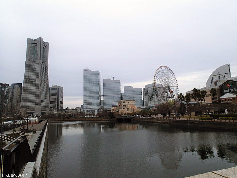 Tomoko Kubo – The Yokohama Minatomirai 21 district