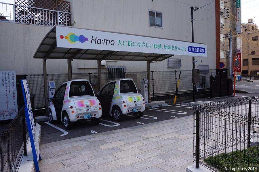 autopartage à Toyota