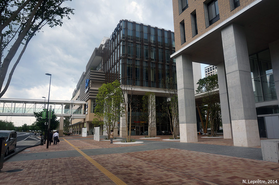 Nicolas Leprêtre centre commercial de Kashiwa