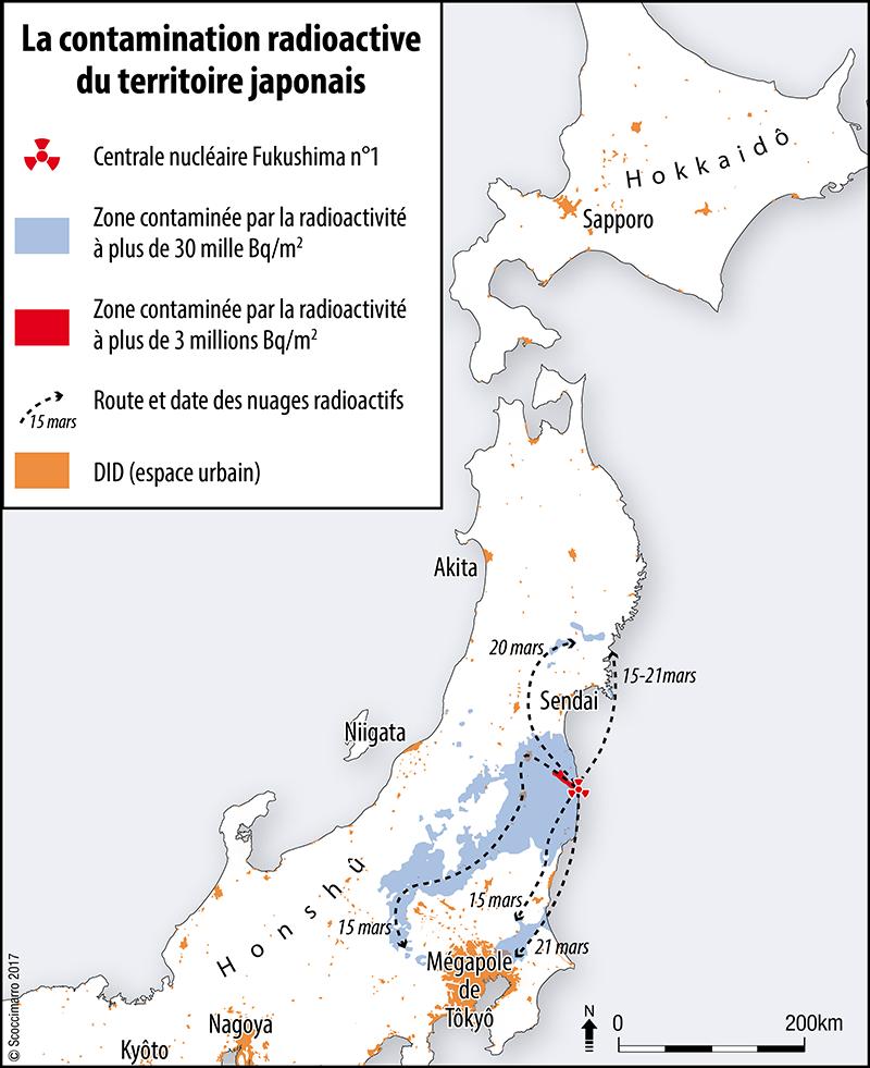 Rémi Scoccimarro — Carte contamination radioactive