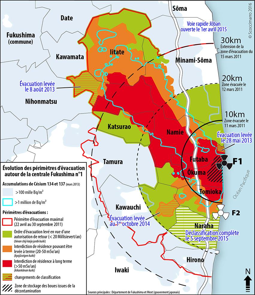 Rémi Scoccimarro — carte Zones d'évacuation 2016
