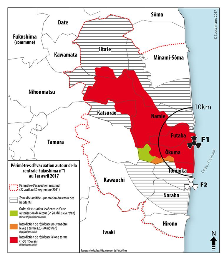 Rémi Scoccimarro — carte Zones d'évacuation 2017