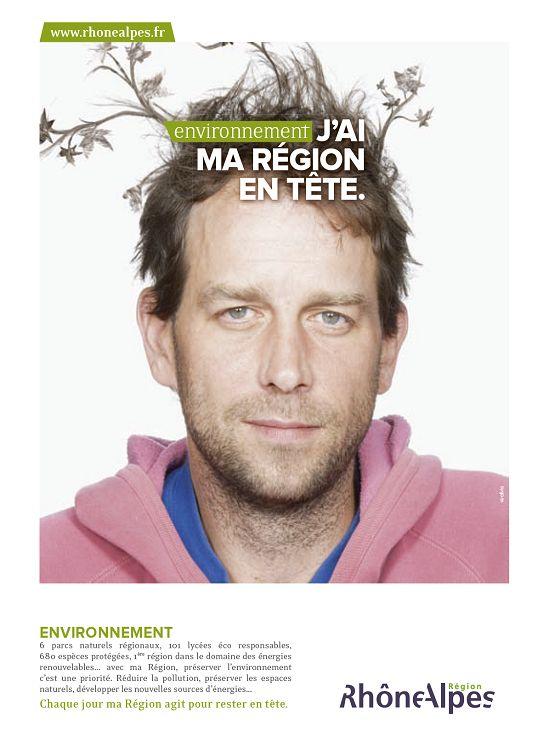 "Campagne ""Rhône-Alpes"", j'ai ma région en tête"