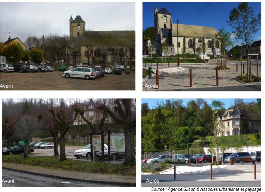 Mutation centre-bourg à Ivry la Bataille CAUE 27