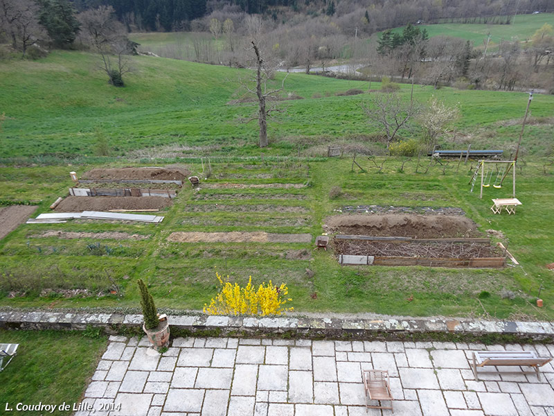 photographie permaculture jardin Coudroy 2014