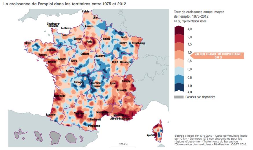 croissance emploi carte 1975-2012