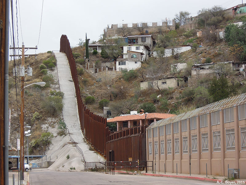 Anne-Lise Boyer — frontière mur états-unis mexique photographie