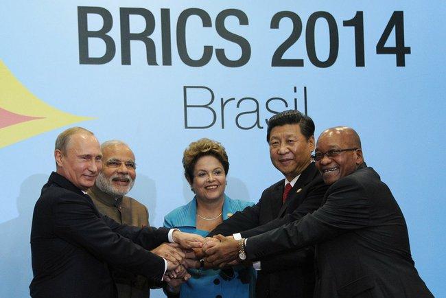 Kremlin — sommet des BRICS au Brésil en 2014
